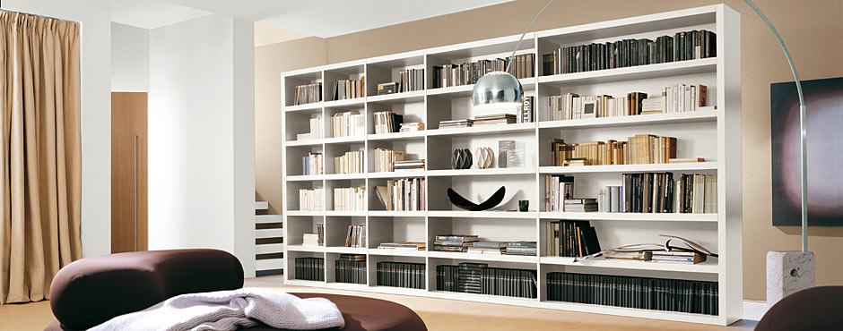 Arredamento salotto libreria libreria ikea arredo - Librerie arredo design ...